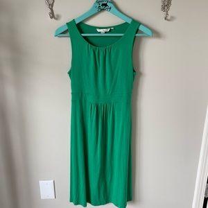 Boden knit green sleeveless dress size 4